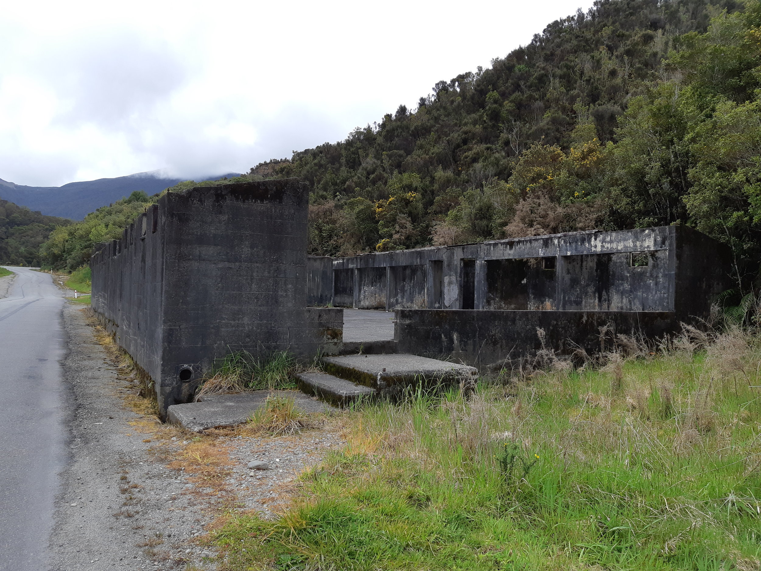 The Blackball Bath House. An outstanding landscape for the Blackball Miners and local community. Wilson, 2018.