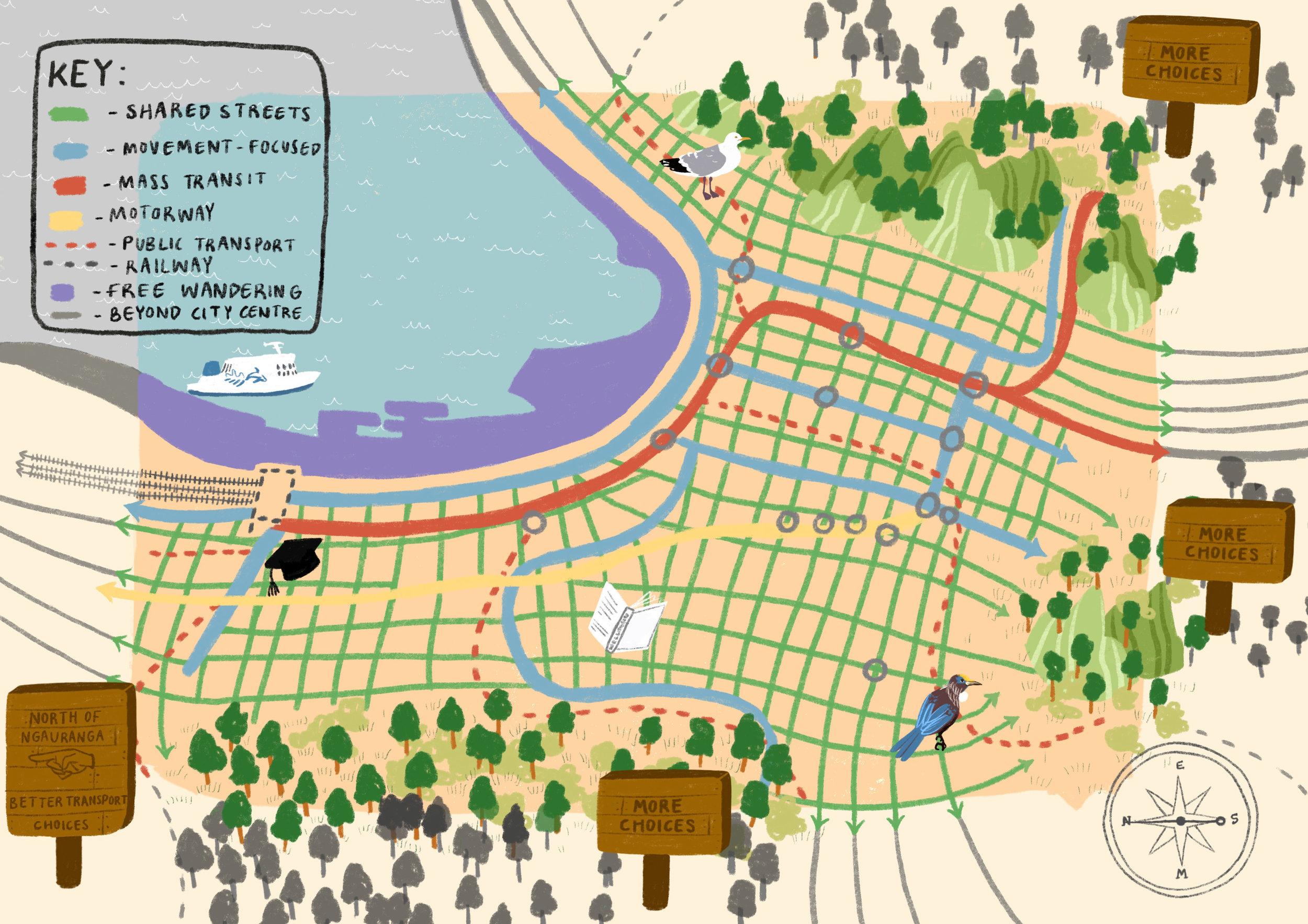 Talk Wellington map