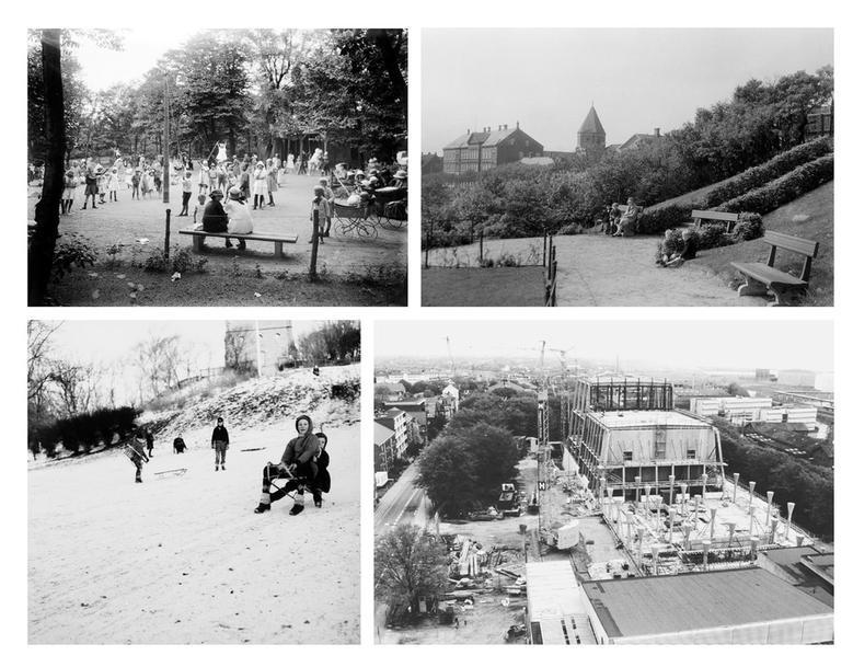 Historic images show the park's past.