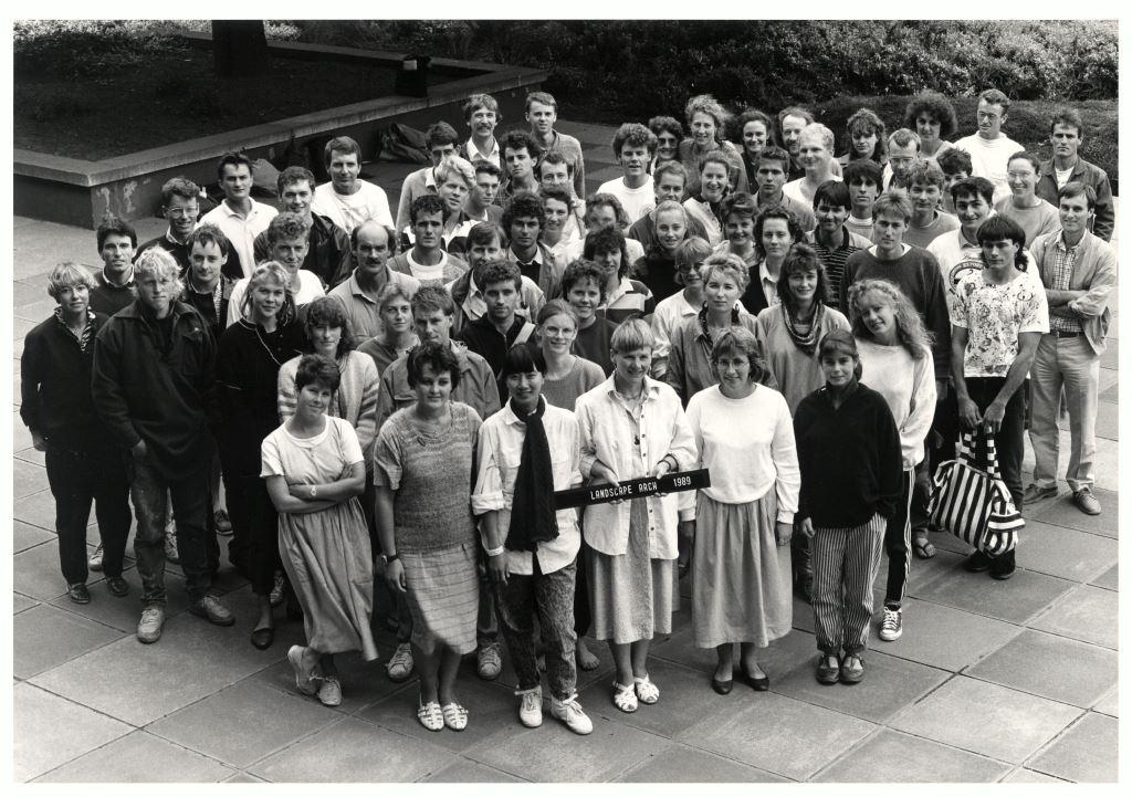 1989 School photo, courtesy of David Hollander