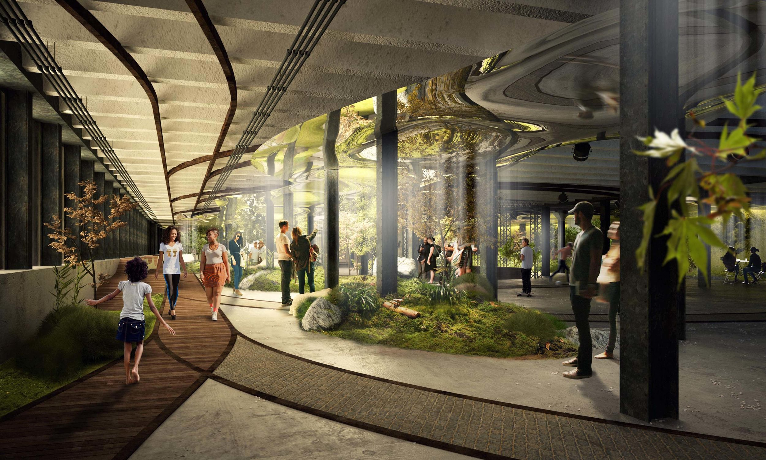 The Lowline is set to open in 2021.