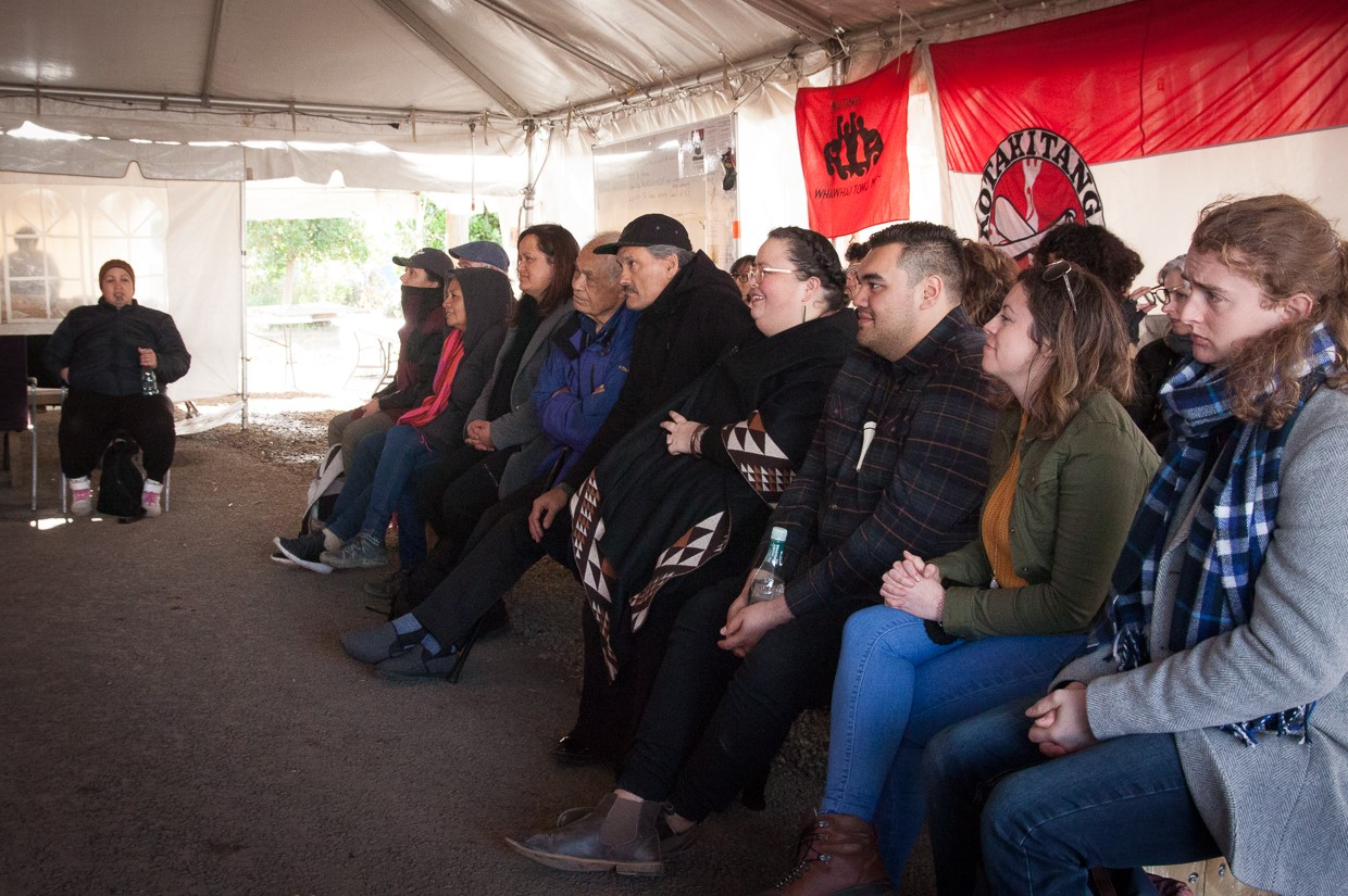 SOUL welcomed landscape professionals on to the site. Photo credit: Jon Hall & Desna Whaanga-Schollum