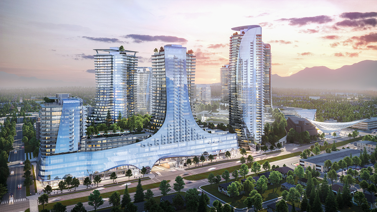 The Oakridge project is set for completion in 2027. Image courtesy of Henriquez Partners Architects.