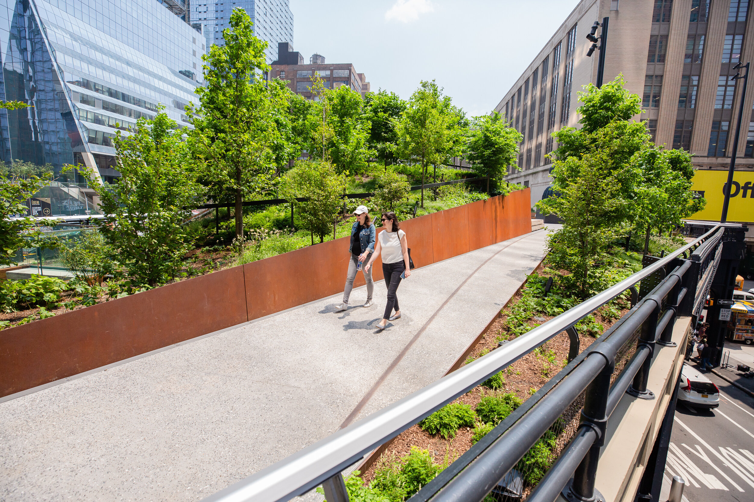 The High Line team has stuck to a 'less is more' approach.