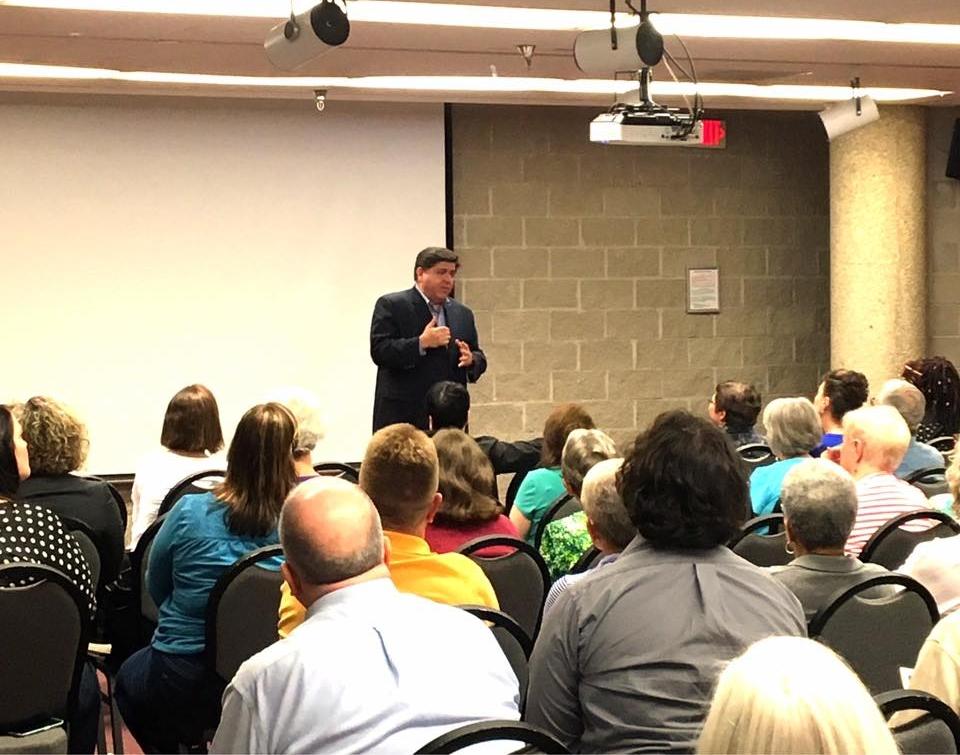 Gubernatorial Candidate JB Pritzker at Action Illinois
