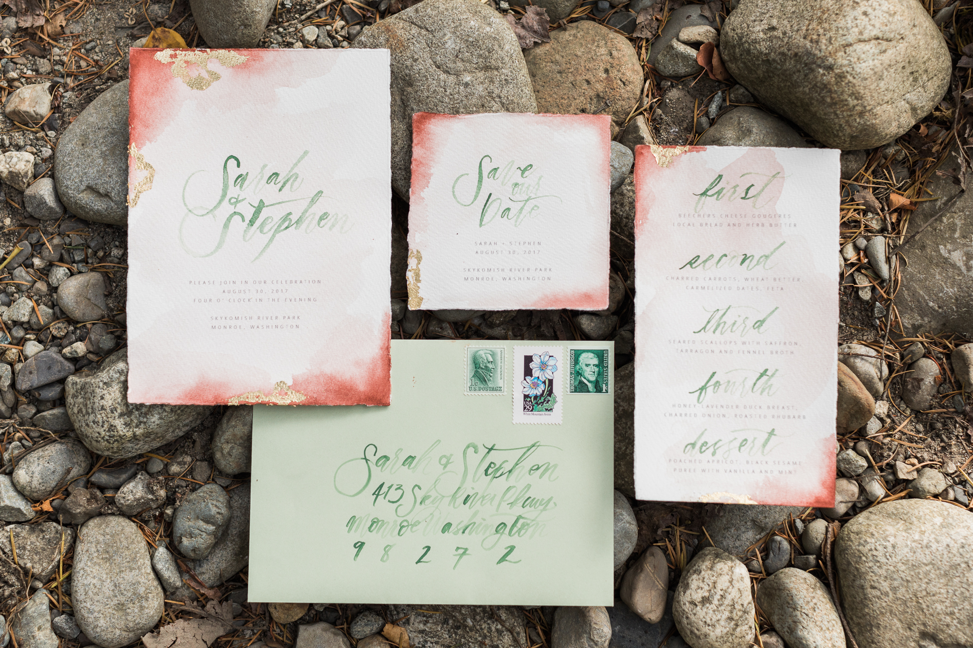 Stationery  Ink & Sable , Photography  Joanna Monger Photography