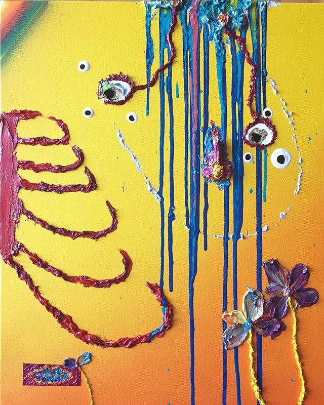 "Dali's ribs - oil on canvas 24""x 36"" #cadaques ( ) ( ) #art #sfart #sfartist #artwork #artist #painting #paint #oilpainting #gallerypainting #laart #nycart #brooklynart #londonart #losangelesart #painter #artcollector #artcurator #contemporaryart #modernart #abstractart #fineart #dali #paintingoftheday #abstractexpressionism #salvadordali #artmarketsf #hunterspoint #sanfrancisco"