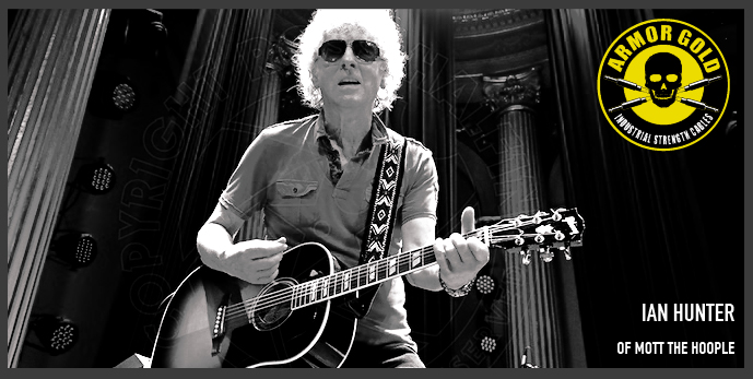 IAN HUNTER OF MOTT THE HOOPLE