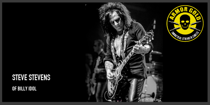 STEVE STEVENS OF BILLY IDOL