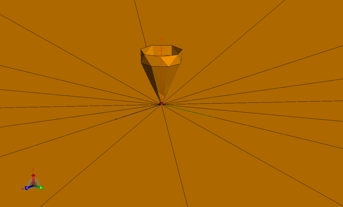 Model of antenna