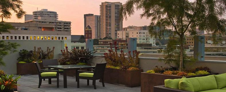 rooftop gardens - Transform unused spaces