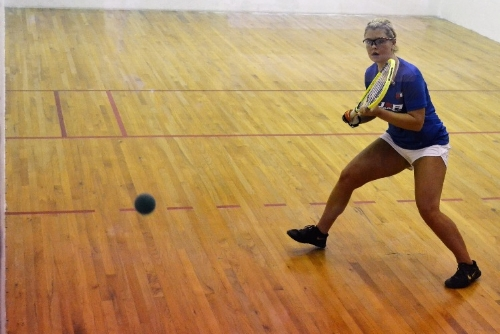 Jordan hopes to combine school, work, and racquetball in her life.
