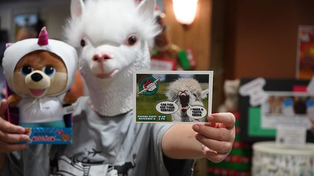 Alpaca shoe box!! Will you!? - Mark your calendars for November 16th! Join us at Horizon from 10-2 pm for our Operation Christmas Packing Party 🎉