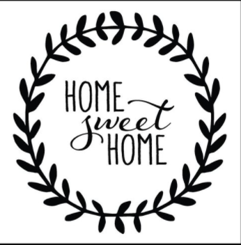 Copy of SB-Home Sweet Home wreath