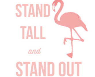 Copy of K-Stand Tall Flamingo