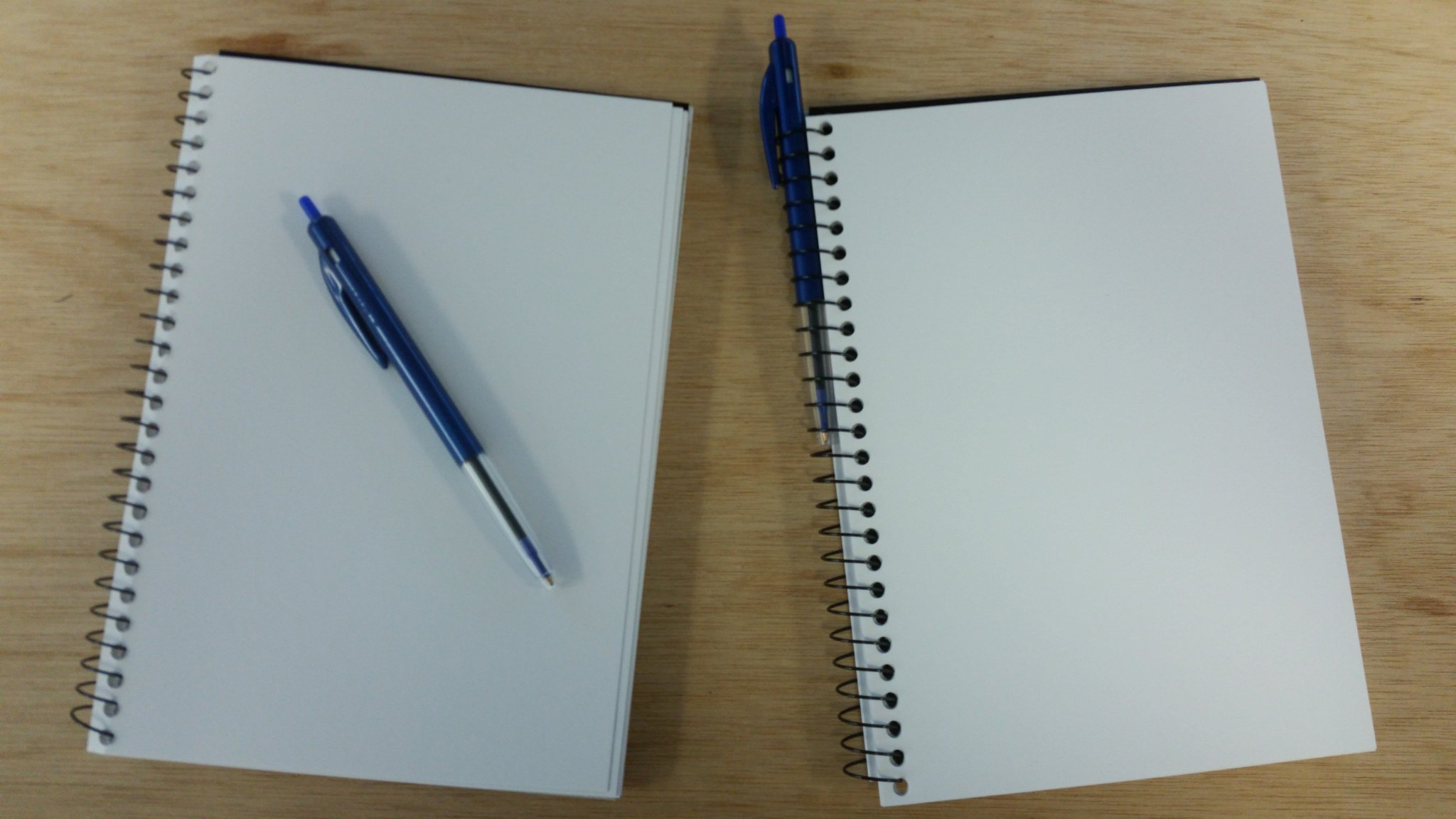 $5 for two notebooks + pens -