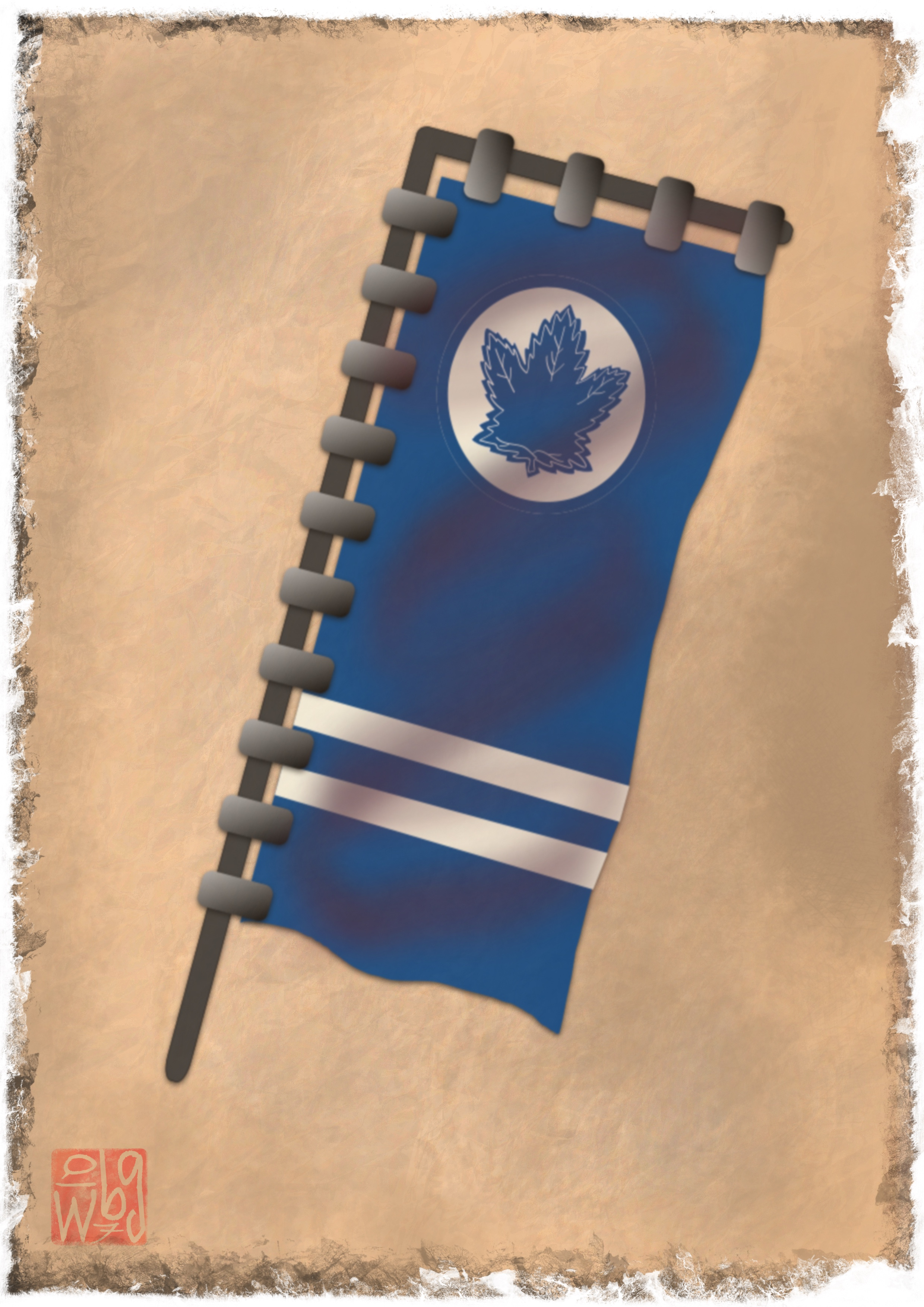 Toronto Maple Leafs Flag