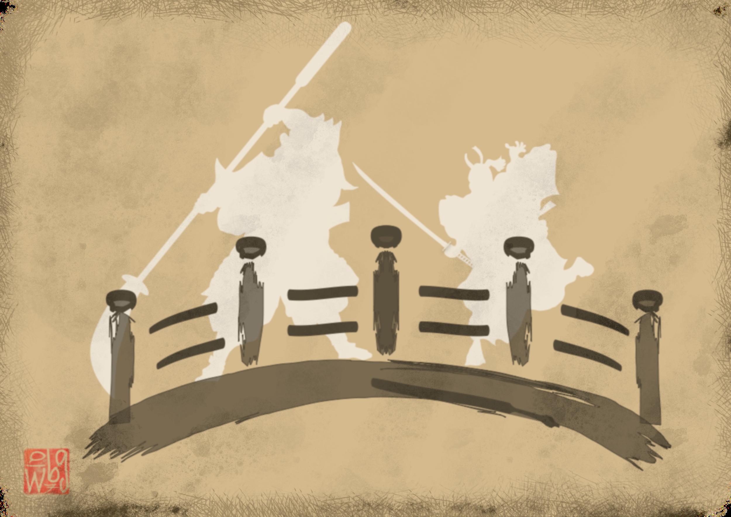 Benkei Musashibo vs. Yoshitsune no Minamoto
