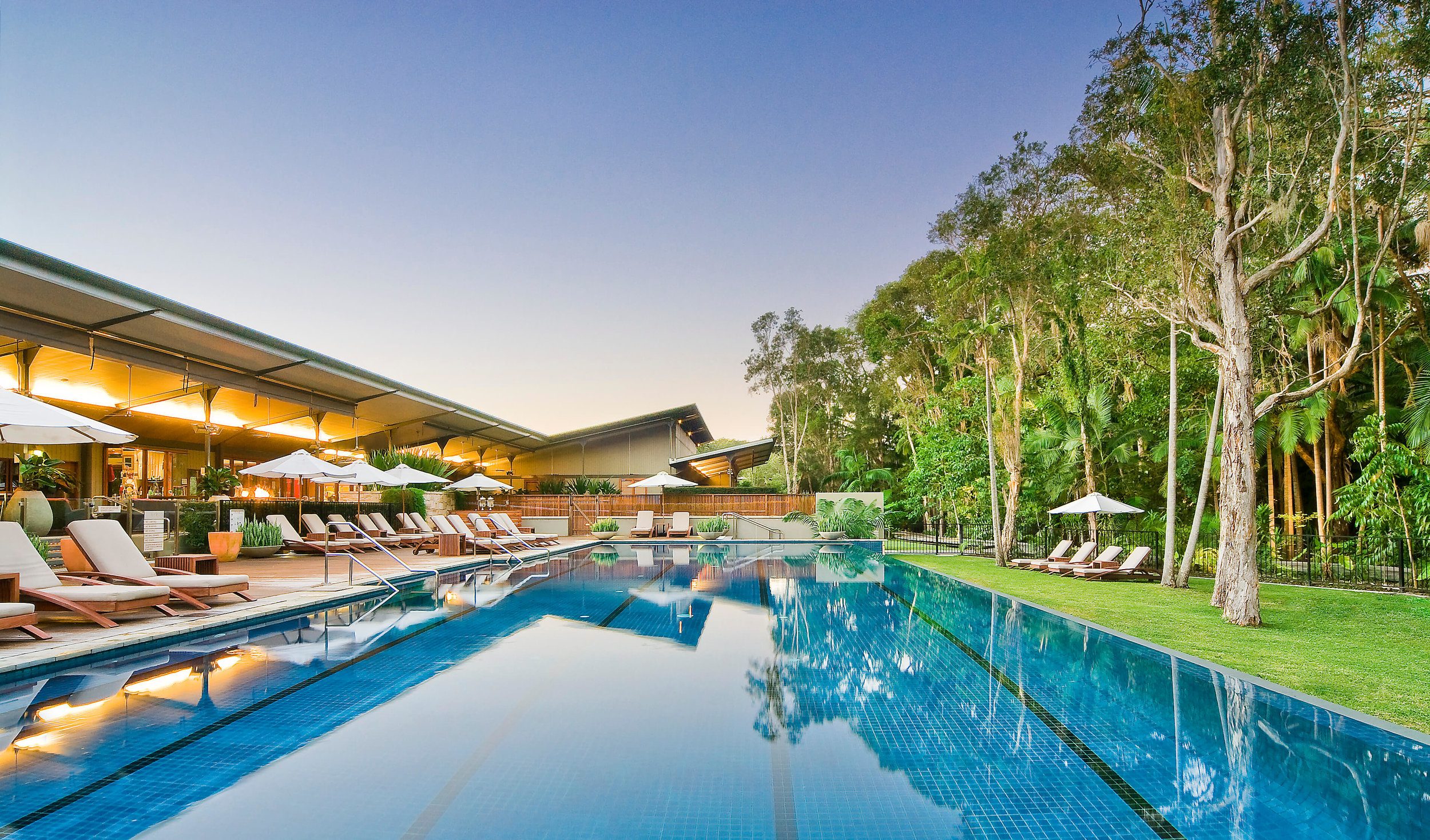 Rainforest Luxury Retreat - Byron at Byron 2 nights accommodation in a Rainforest Suite, return flights and transfers to the resort.ex Newcastle or CanberraStarting from $598 per person twin share★★★★★