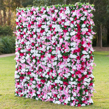 Garden Flower Wall — Gold Coast Flower Walls