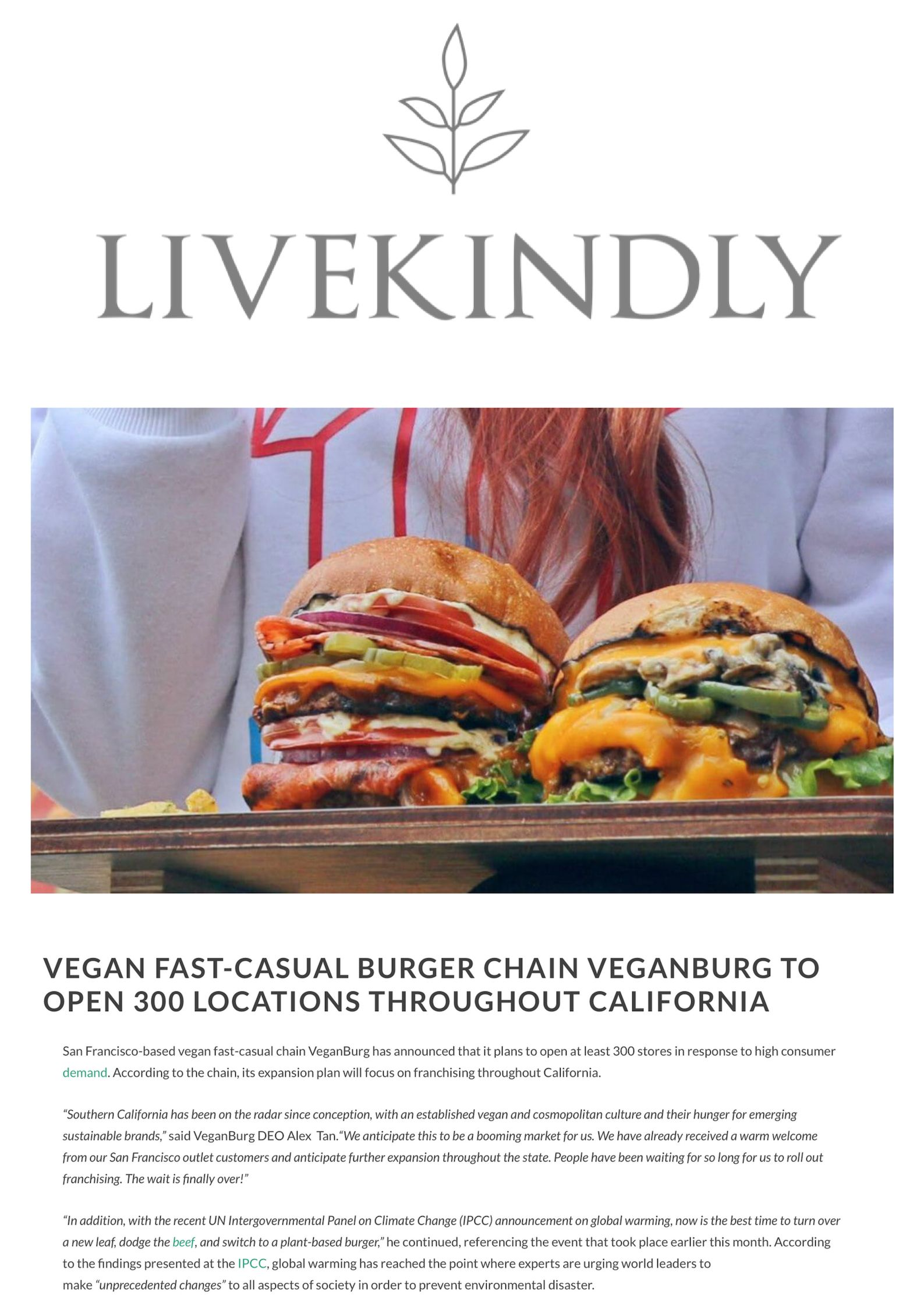 Vegan fast-casual burger chain VeganBurg has announced that it plans to open 300 franchised plant-based restaurants throughout California_.jpg