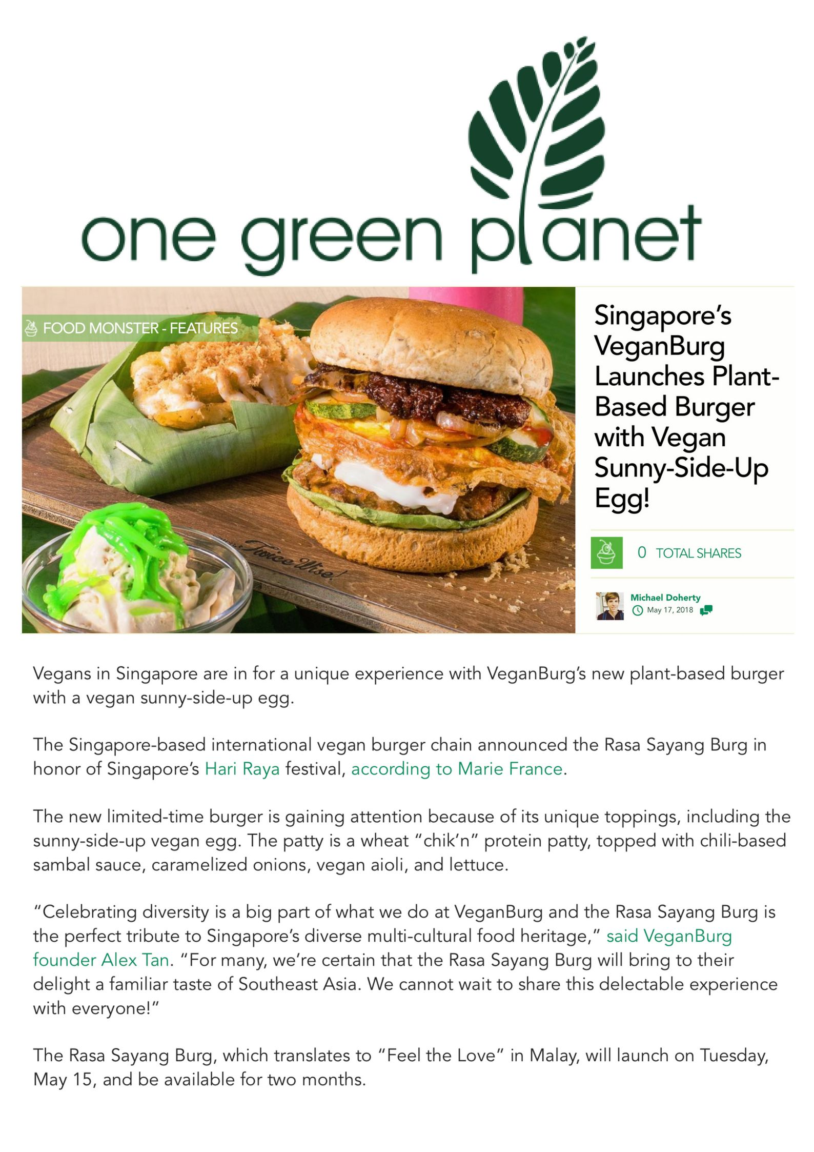 Vegans in Singapore are in for a unique experience with VeganBurg's new plant-based burger with a vegan sunny-side-up egg_.jpg