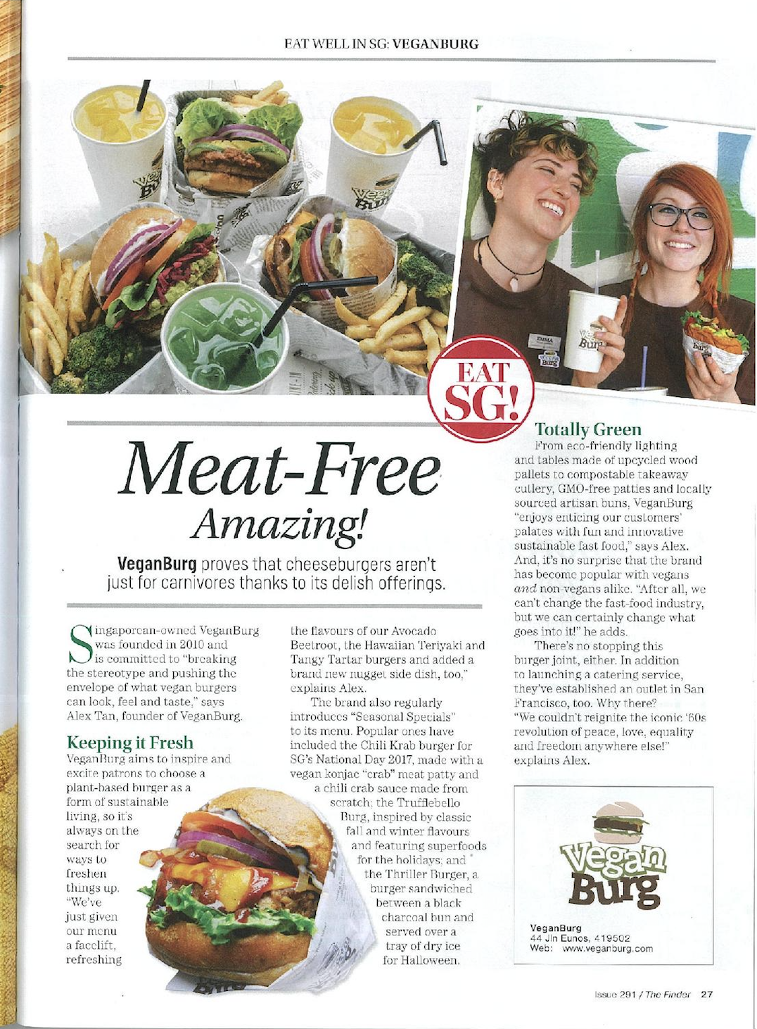 The Finder Magazine_ Meat-Free Amazing! VeganBurg proves that_ cheeseburgers aren't just for carnivores thanks to its delish offerings_.png