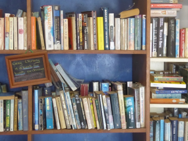 Lazy Library at Niue Yacht Club