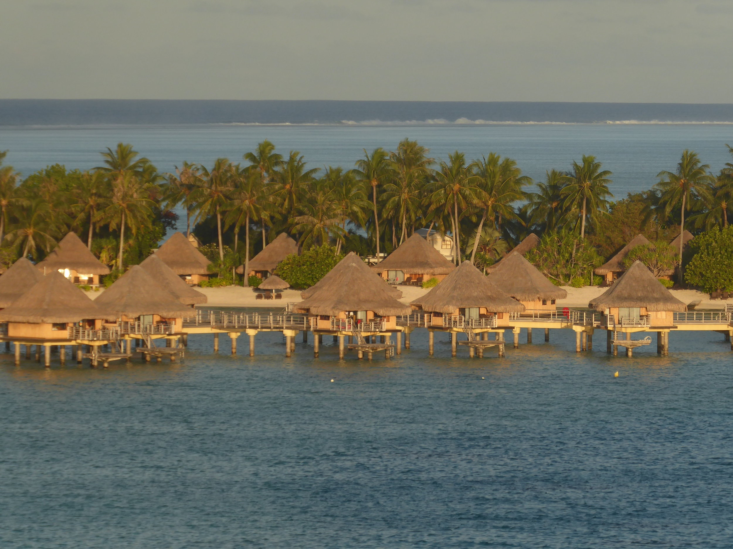 Are you prepared to forego a once in a lifetime experience of staying in over-the-water bungalows?