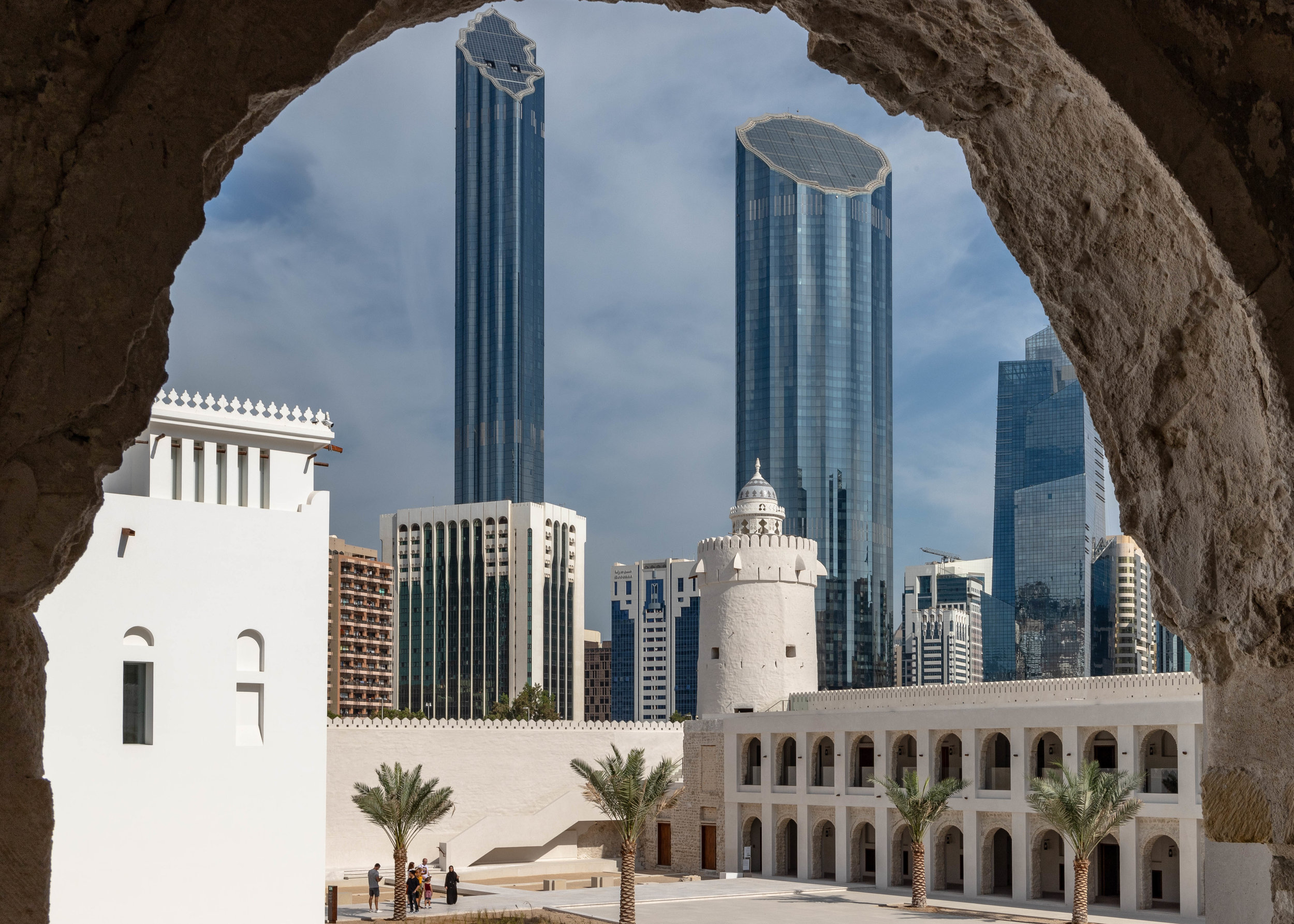 A perfect blend of old and new in the heart of downtown Abu Dhabi