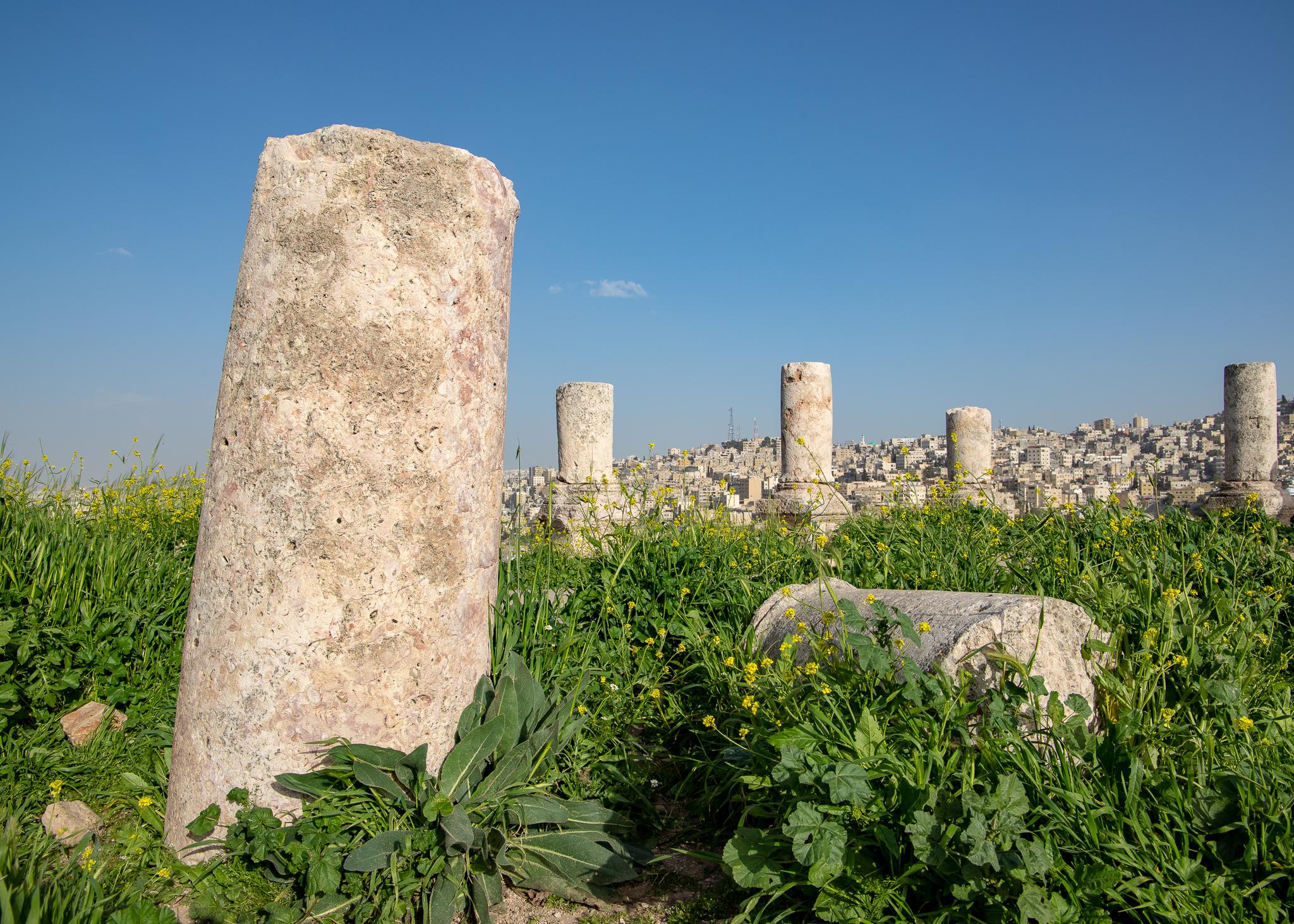 Pillars just left lying around