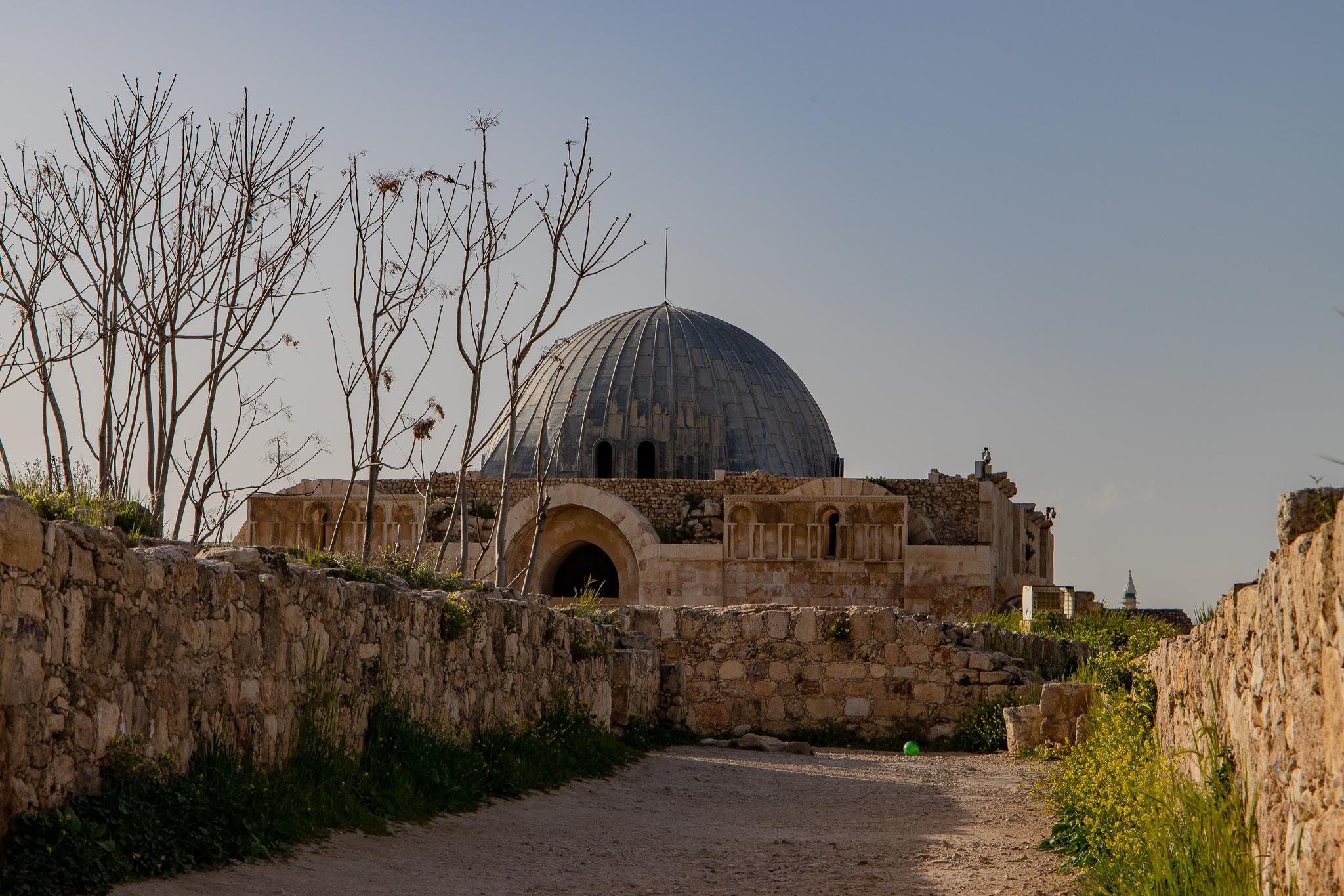 Walking through history to the Ummayad period