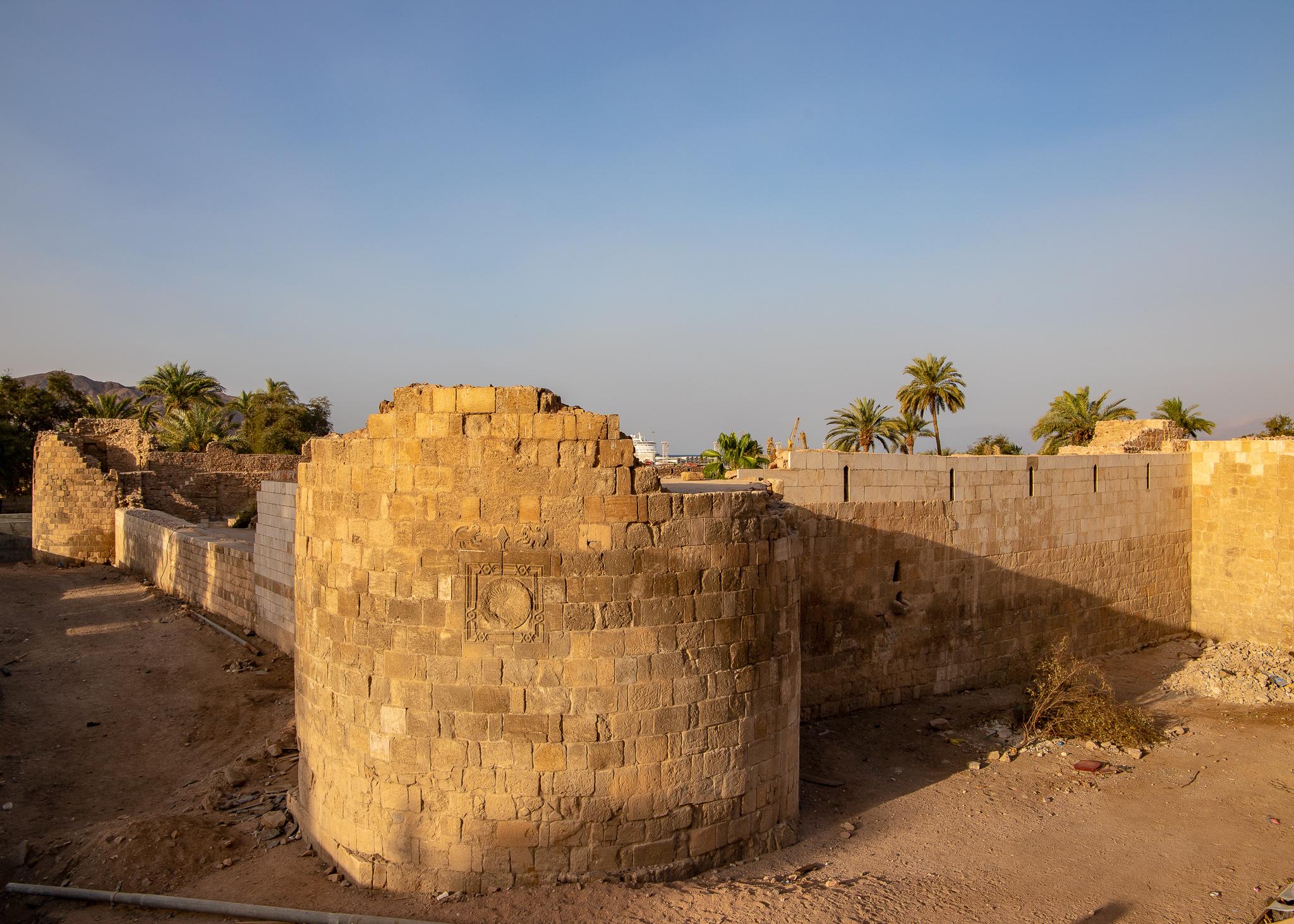 Aqaba Fort ruins