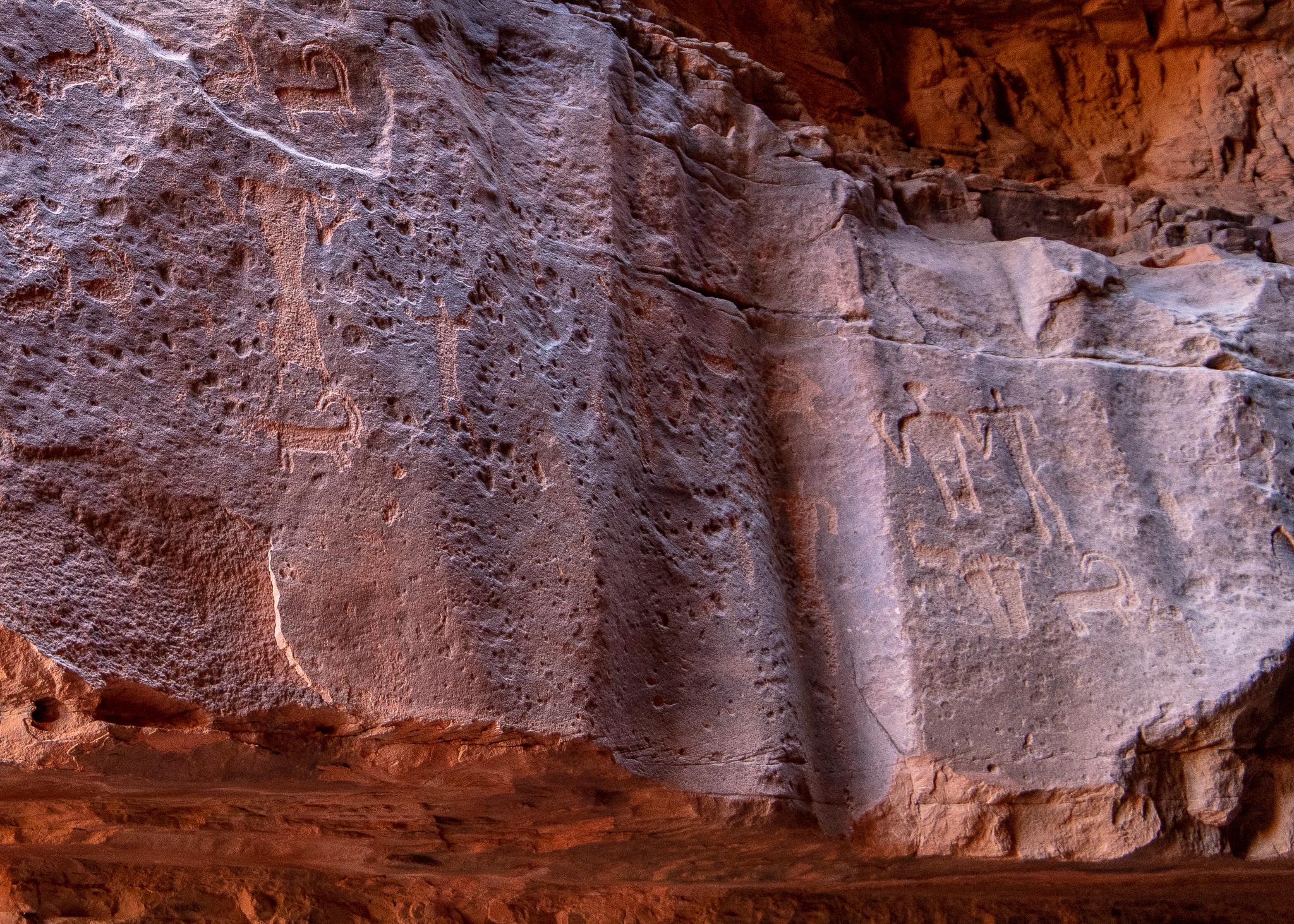 Nabatean rock art