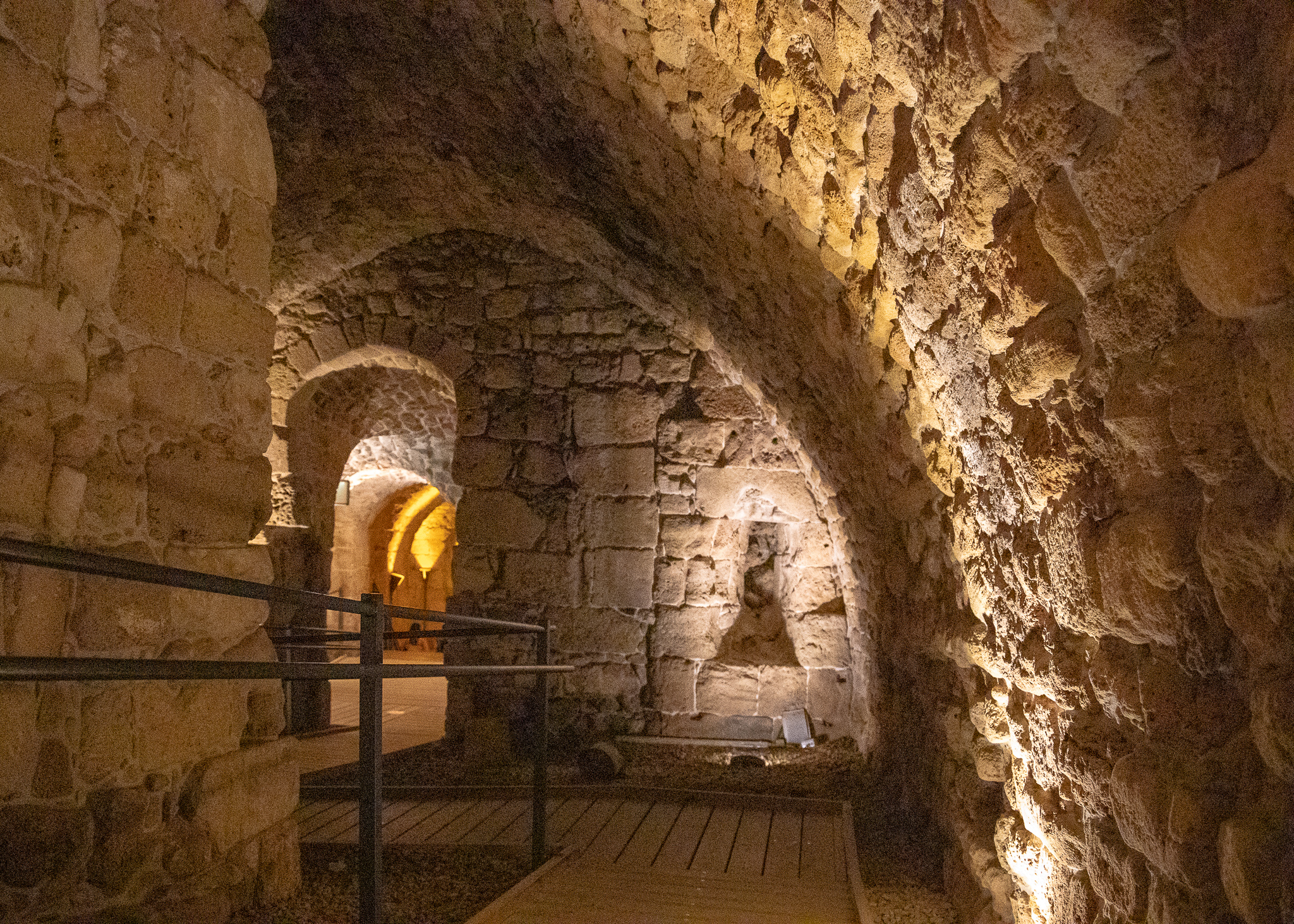 Subterranean passageways