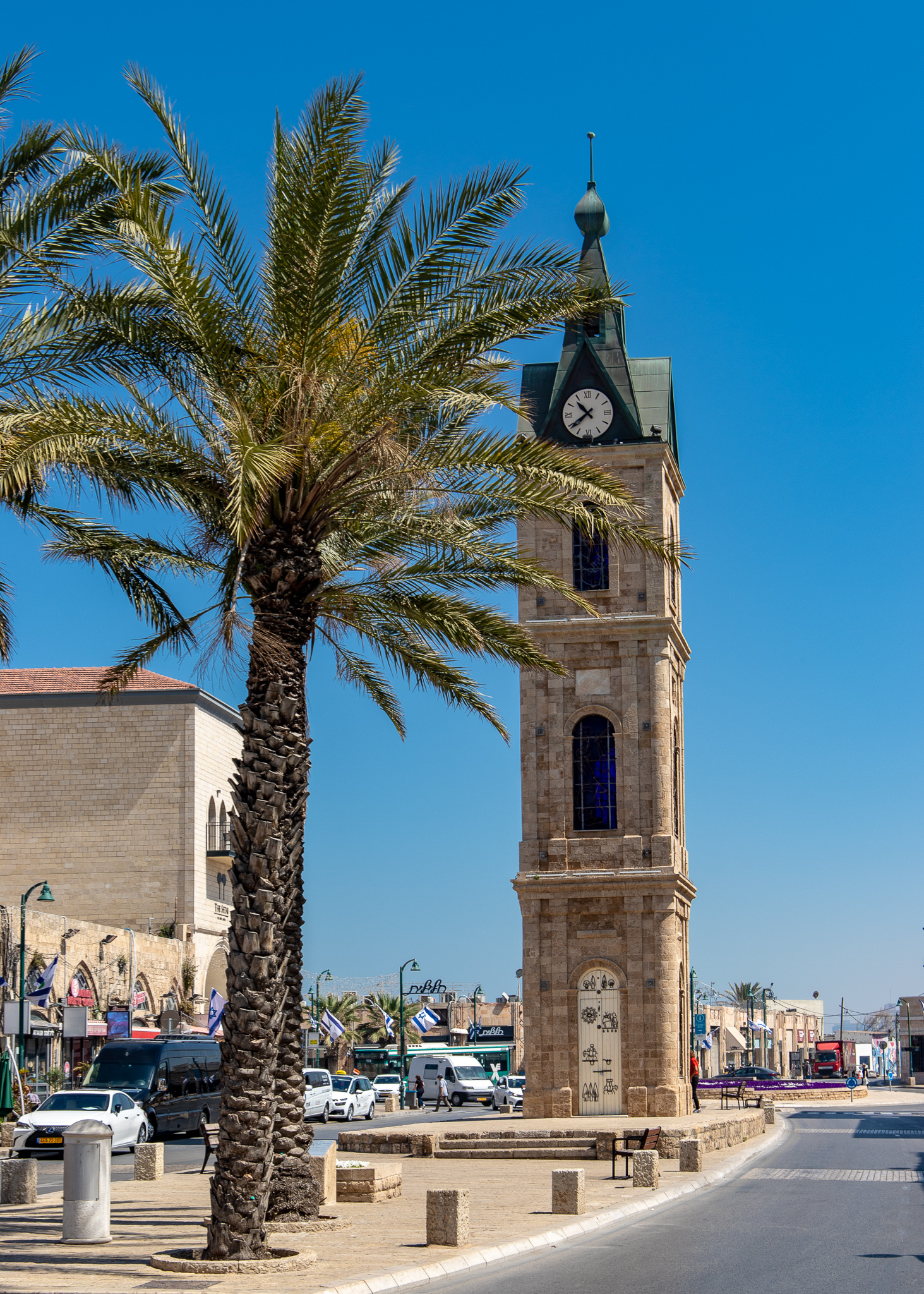 The Jaffa Clock Tower