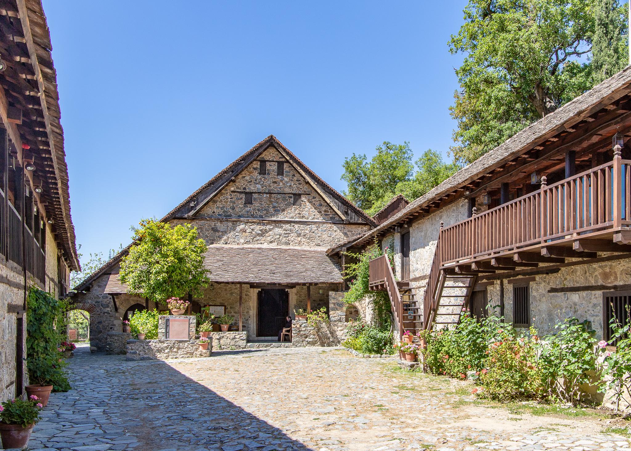 The Monastery Courtyard