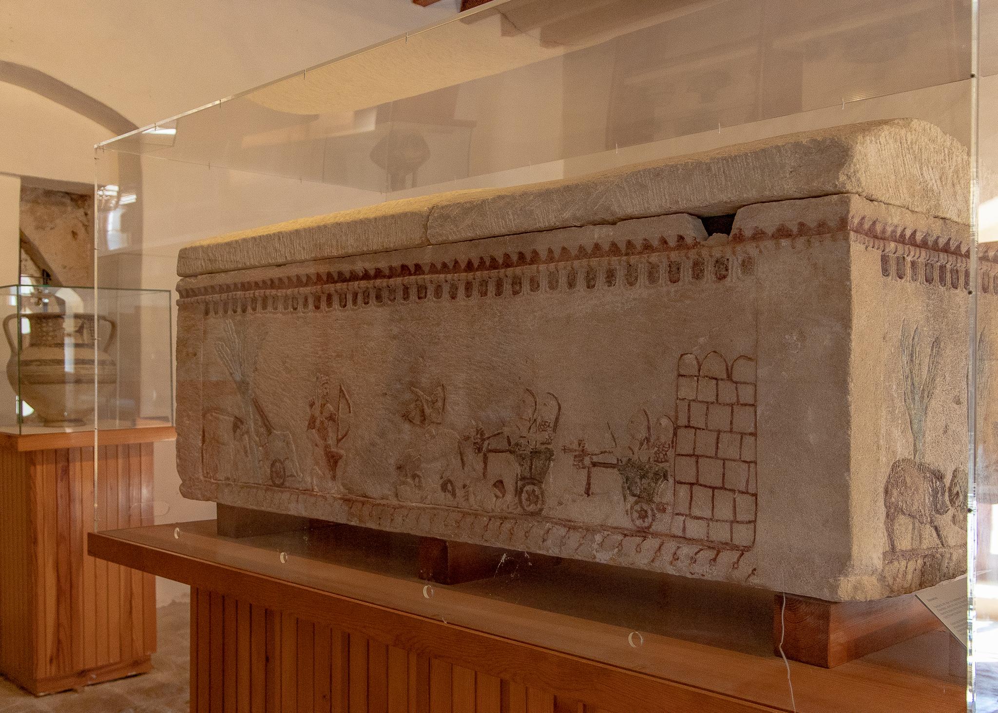 Greek war scenes