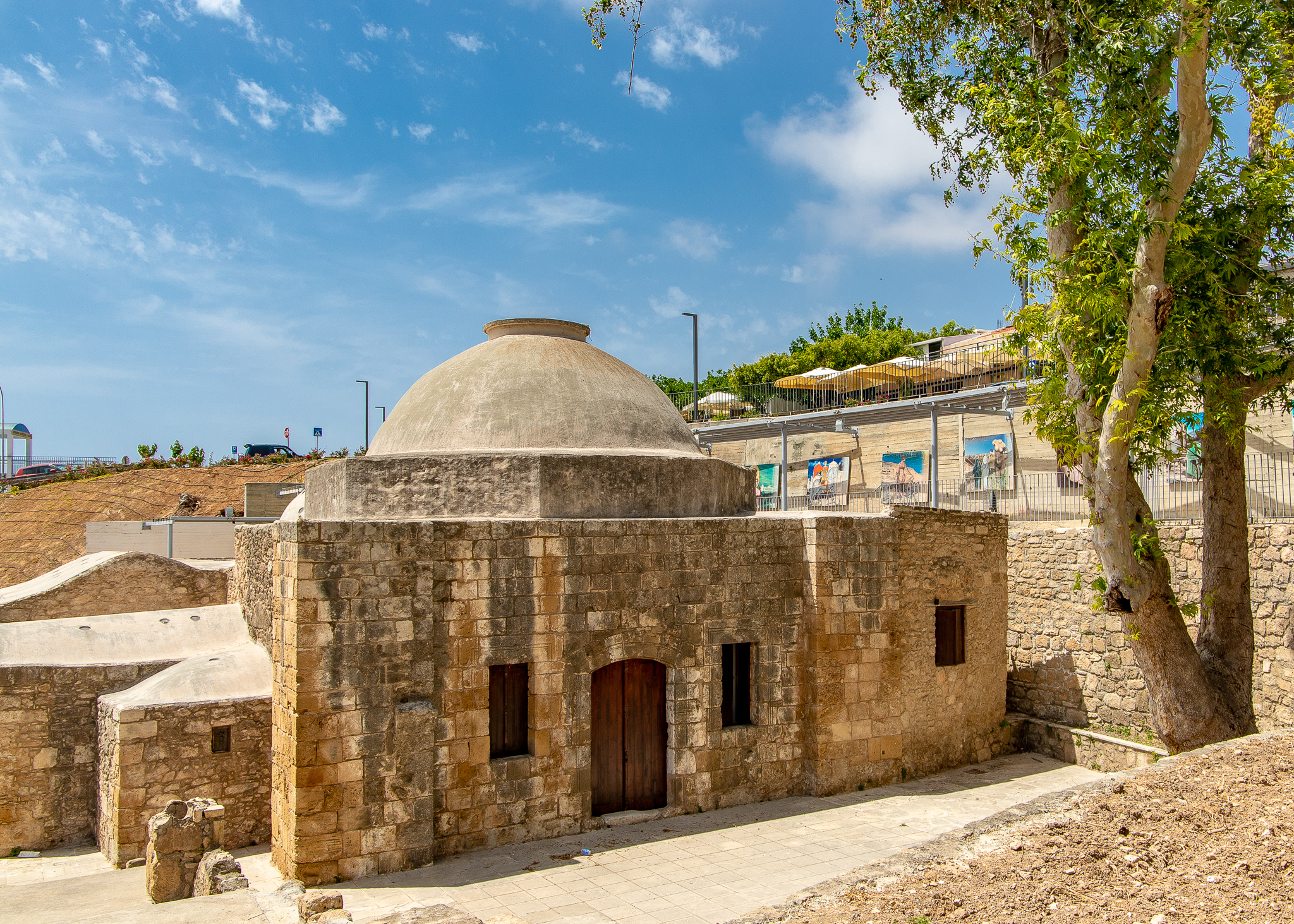 Mystery building located in what was the Turkish quarter of Paphos