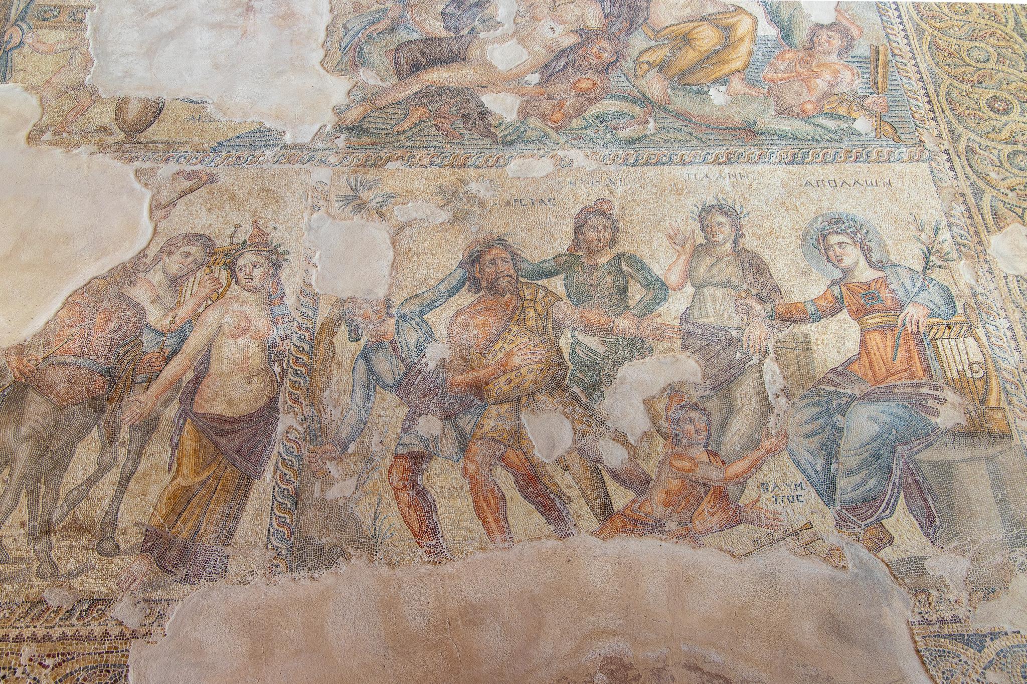 Wonderfully preserved mosaics
