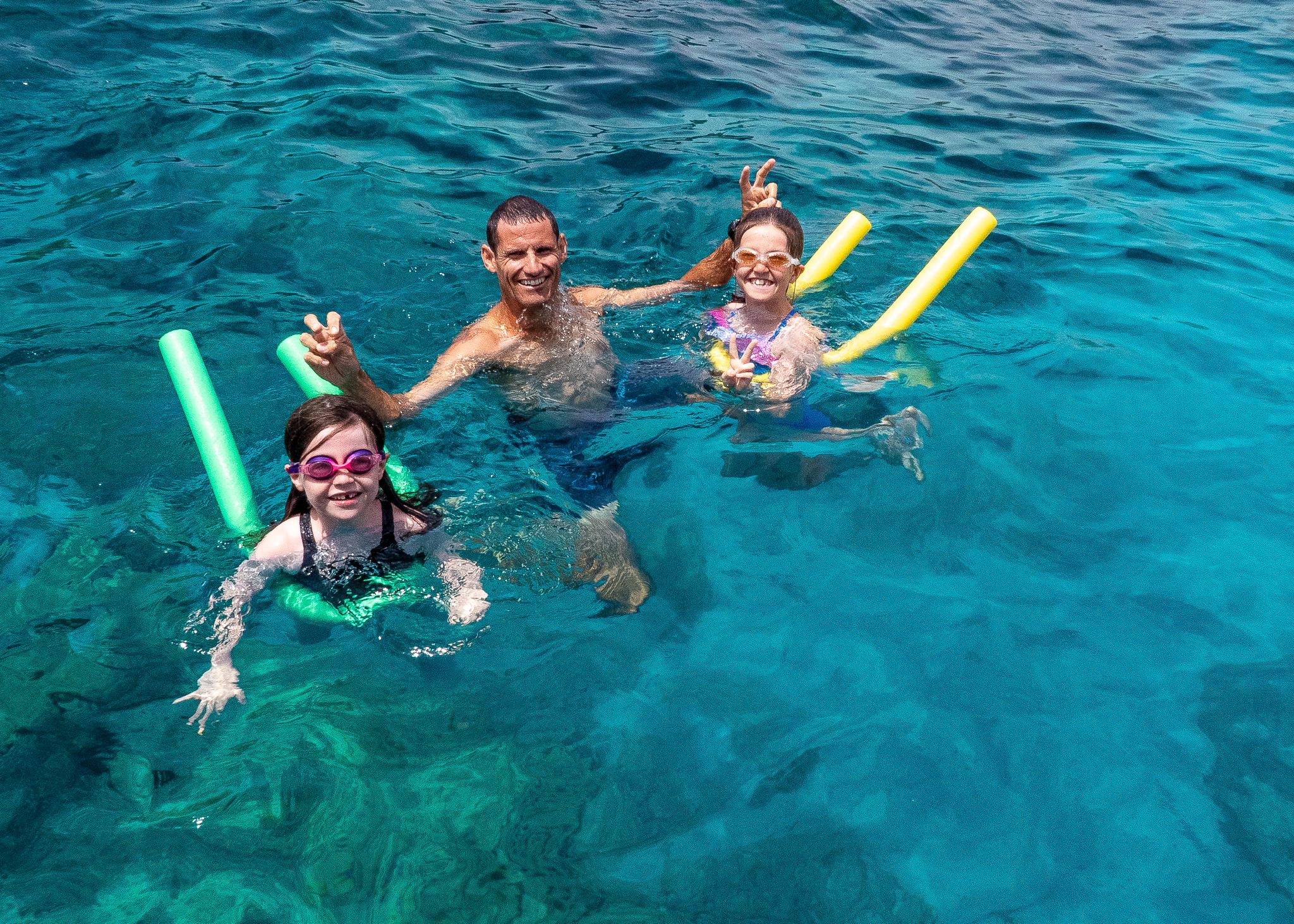 Splashing around in the Blue Lagoon