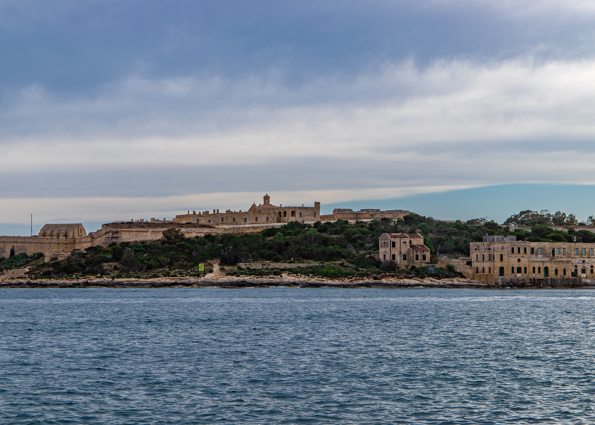 The foreboding Manoel Island