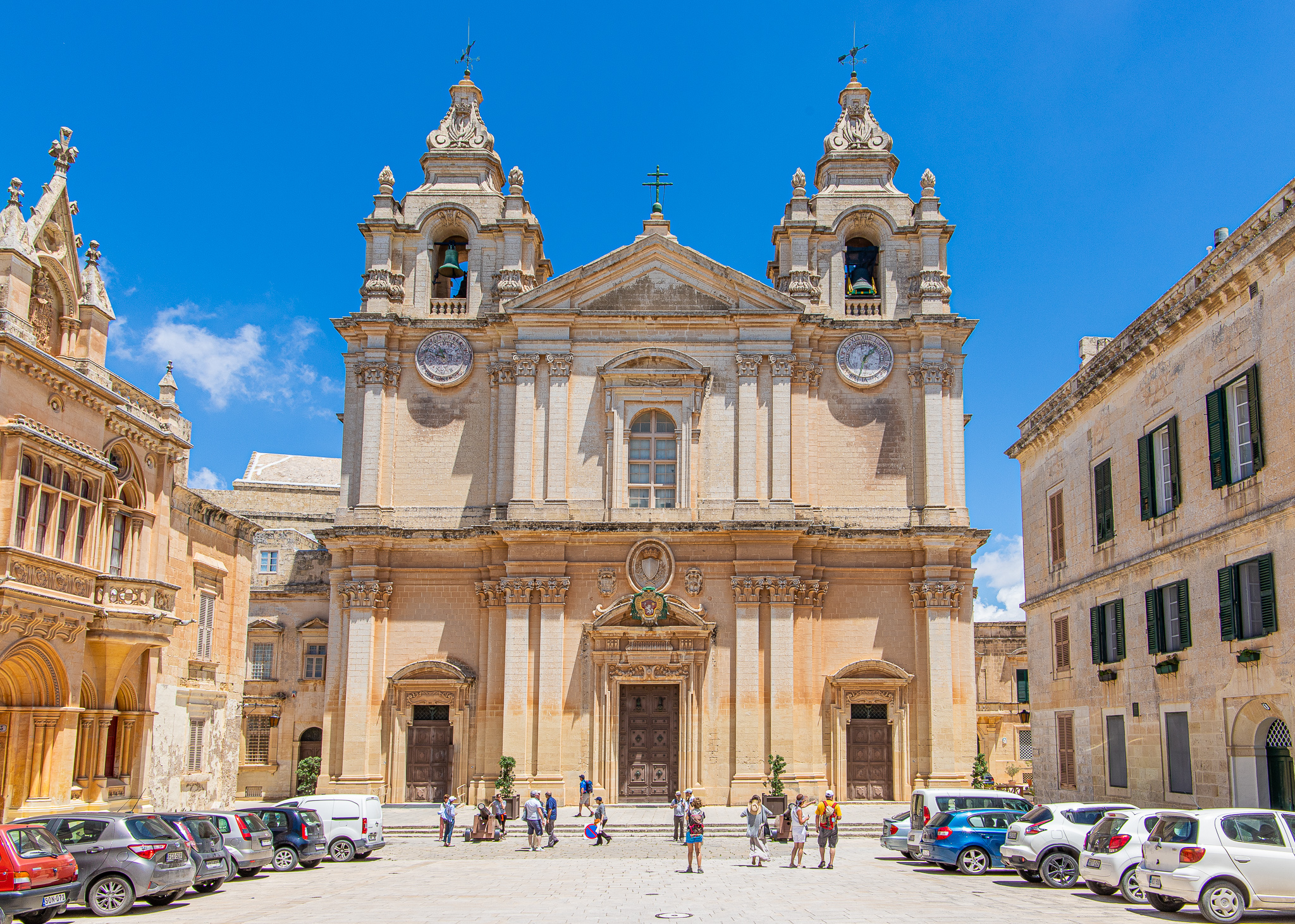 The Baroque-style Saint Paul's Cathedral