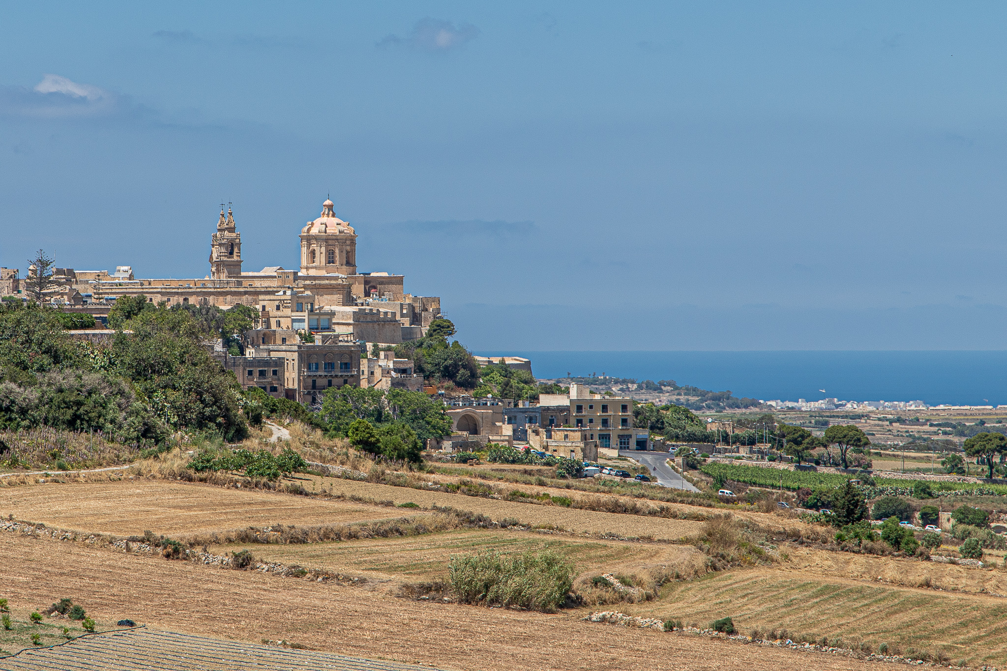 The Silent City of Mdina beckons