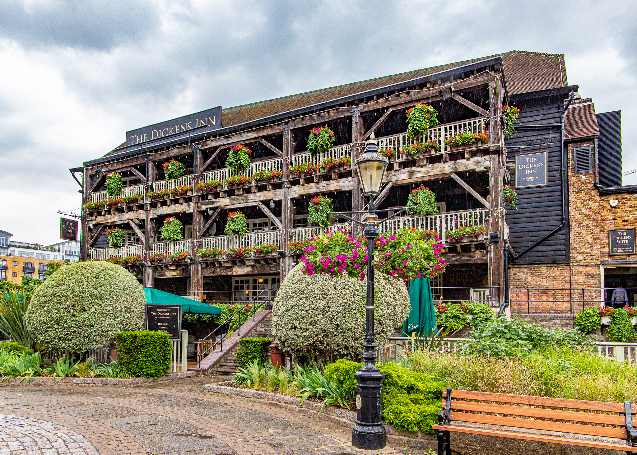 The Dickens Inn at Saint Katharine Docks