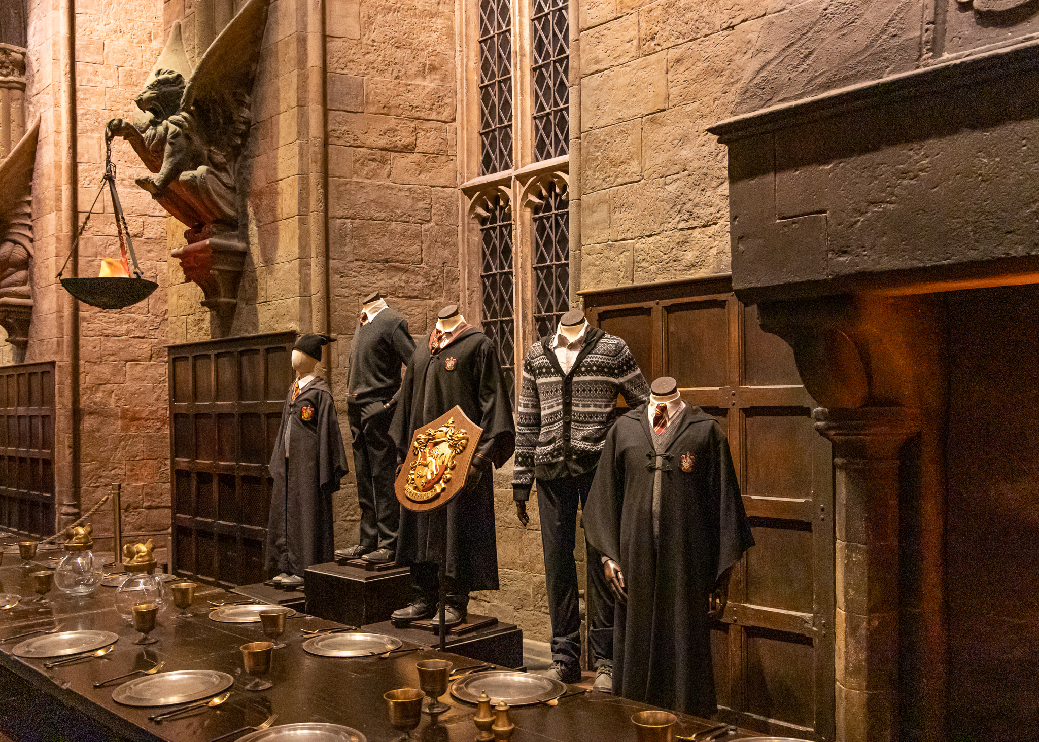Hogwarts, of course