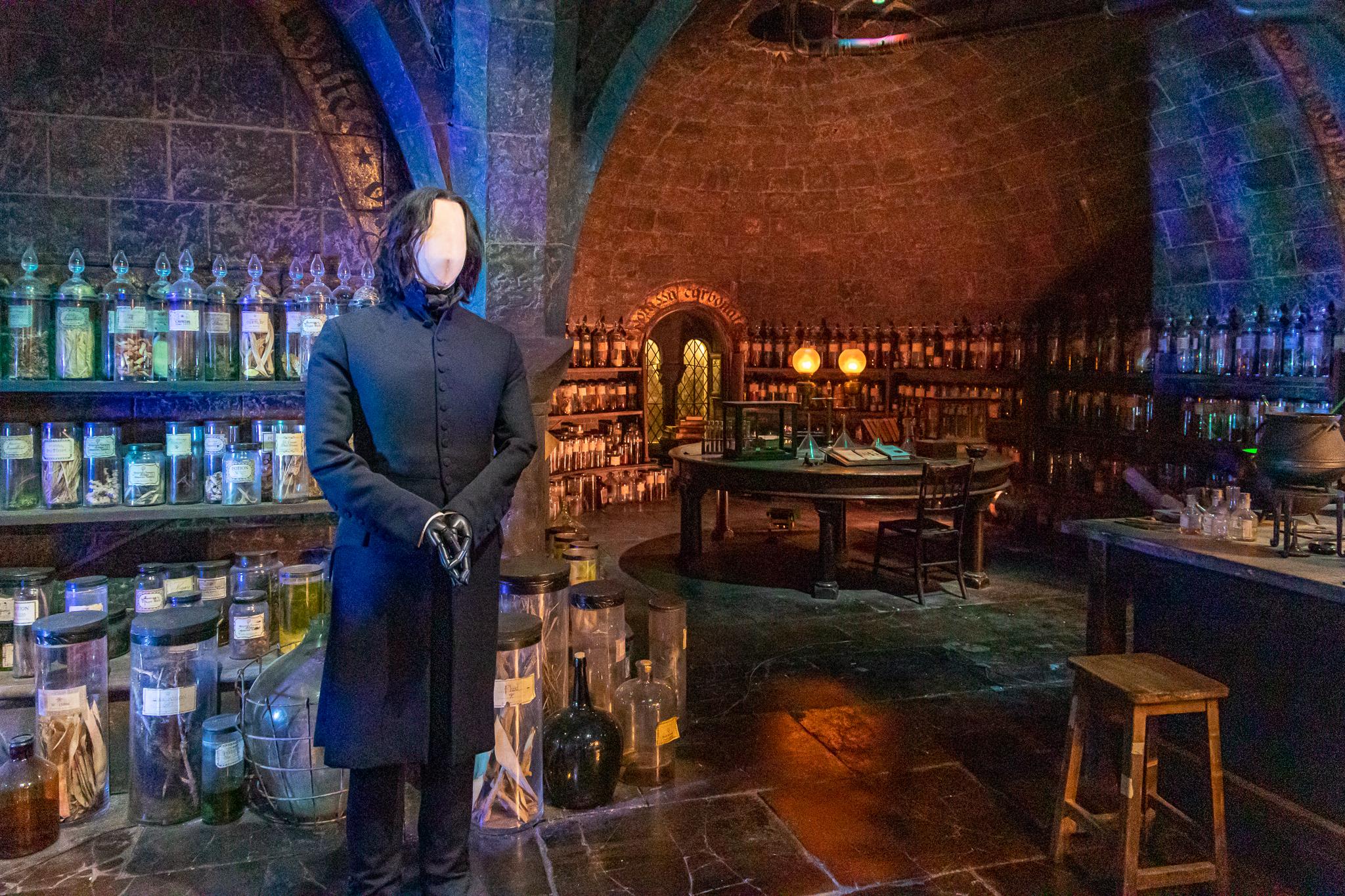 Potions and his dark arts
