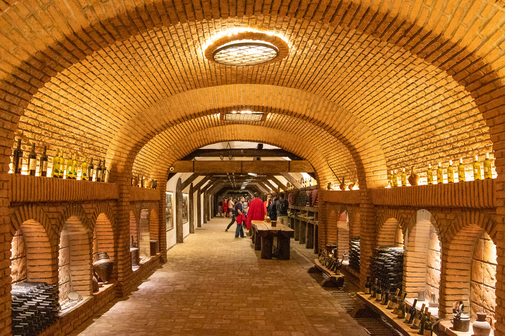The tunnel of wine