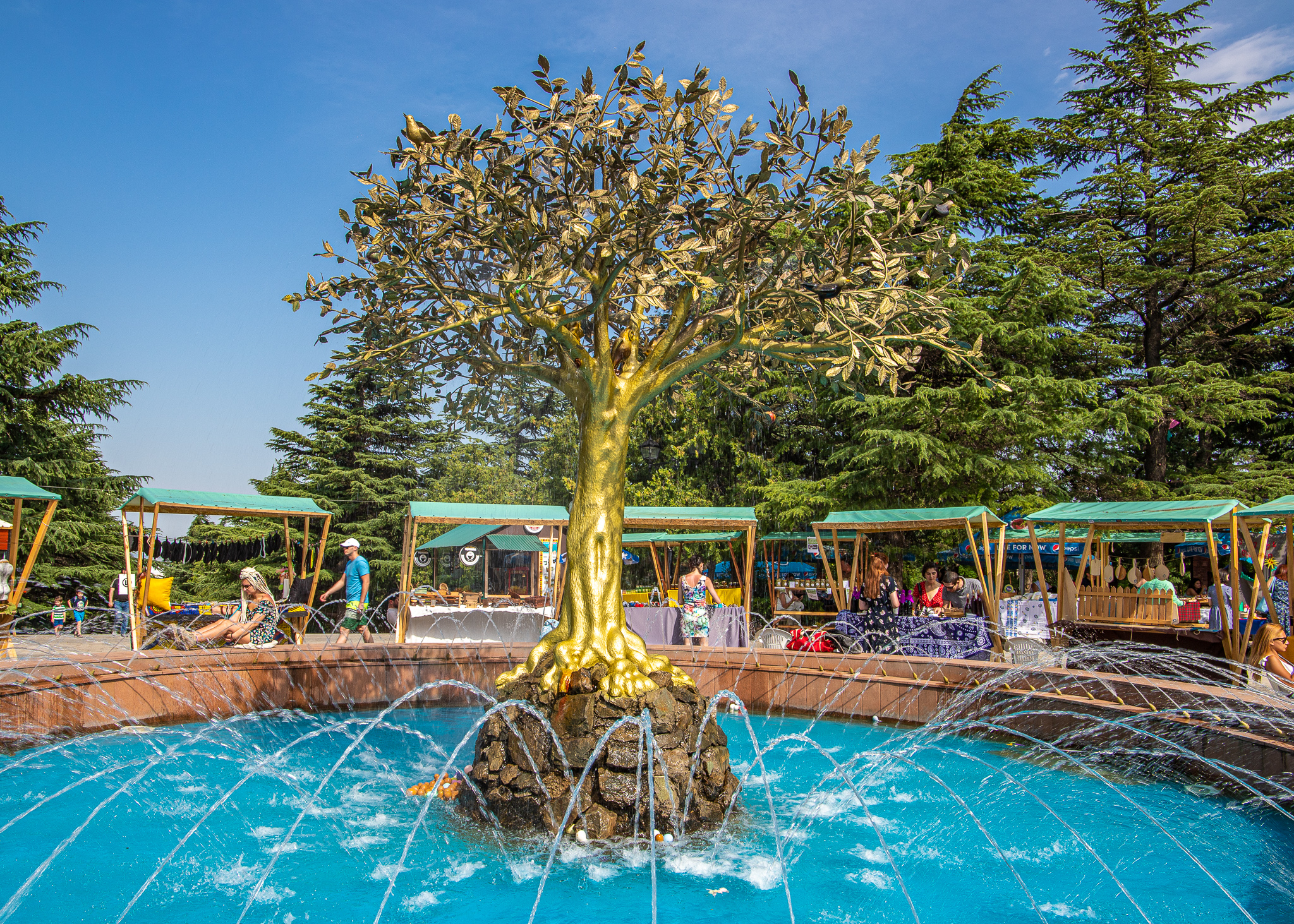 Mtatsminda Park Tree Monument