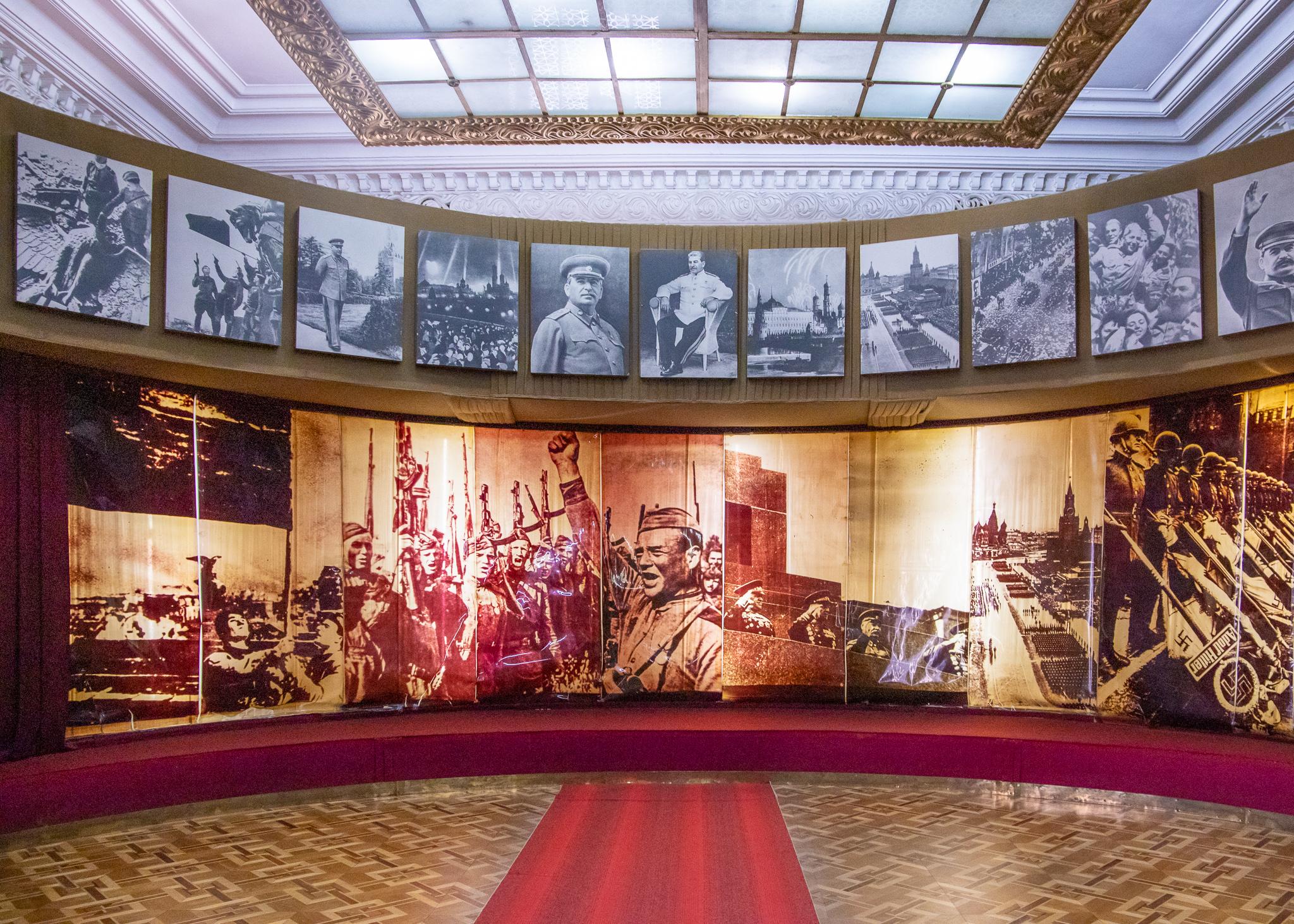 Great Patriotic War display